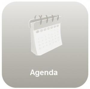 knop Agenda licht
